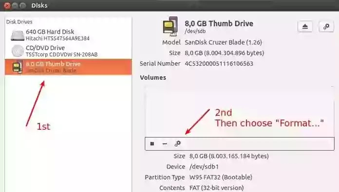 How to format write protected pendrive via Disk Utility