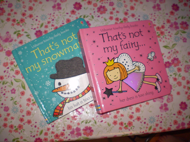 That's Not My Fairy and Snowman Books