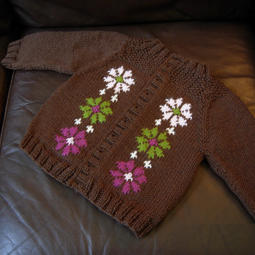 Chronicles of Narnia Baby Cardigan - Free Pattern