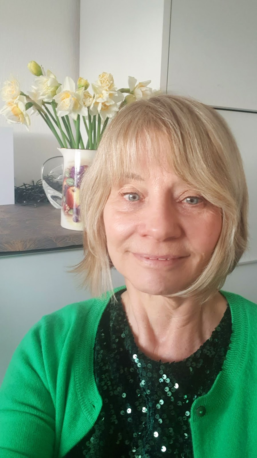 Over 50s style blogger Gail Hanlon shares her latest skincare and hair products along with the Look Fantastic Golden Easter egg 2020