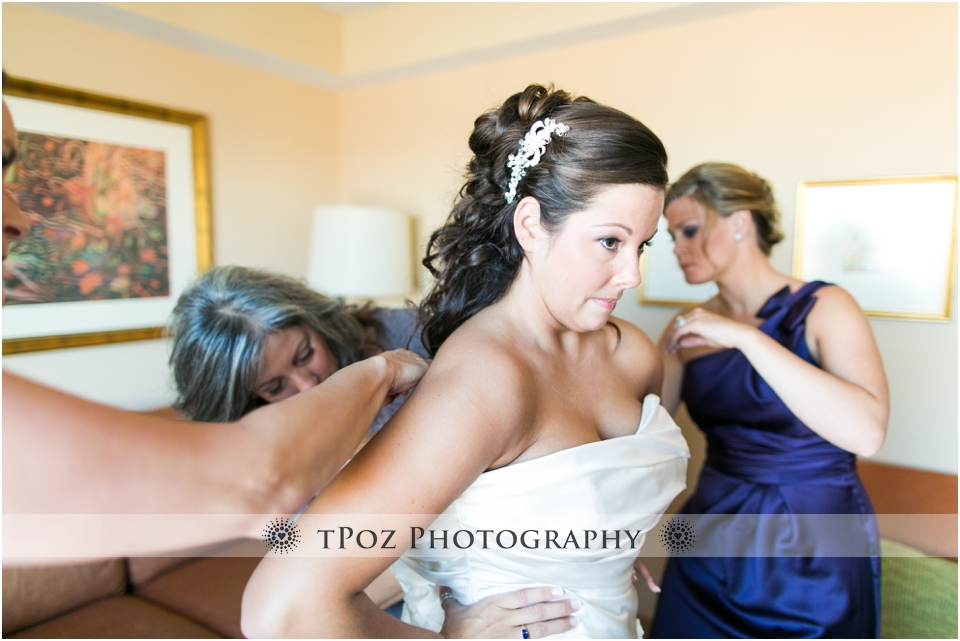 baltimore wedding getting ready