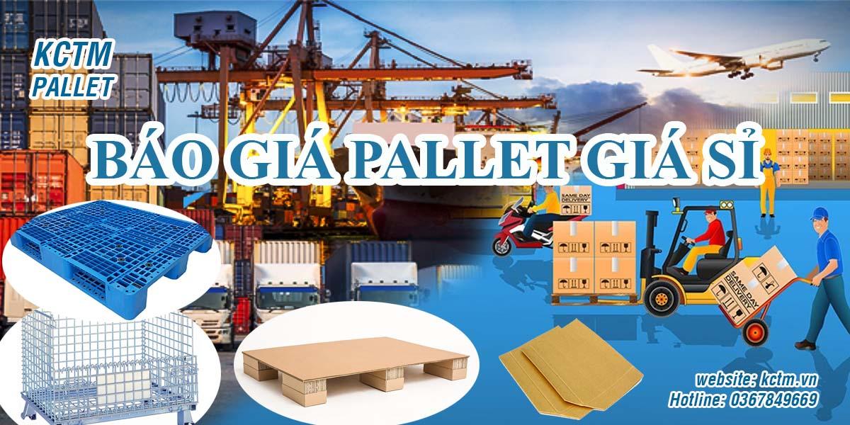 Pallet nhựa giá sỉ Báo giá các loại pallet nhựa đủ kích thước tải trọng