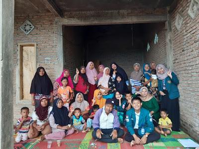 Mahasiswa KKN Unila Gelar Lomba Rumah Sehat di Pekon Margodadi