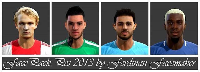 Facepack Ultimate PES 2013