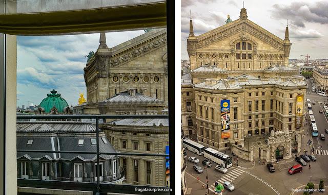 Ópera Garnier, ponto final do ônibus que vem do aeroporto para o Centro de Paris