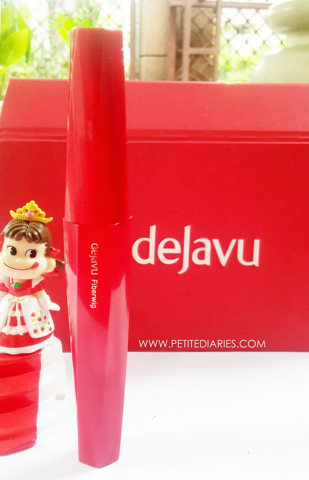 dejavu fiberwig mascara japan review