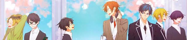 El anime Sasaki and Miyano