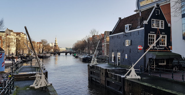 Barreras canales Amsterdam