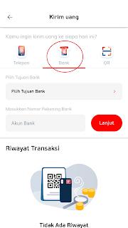 cara transfer saldo ke linkaja ke rekening bank