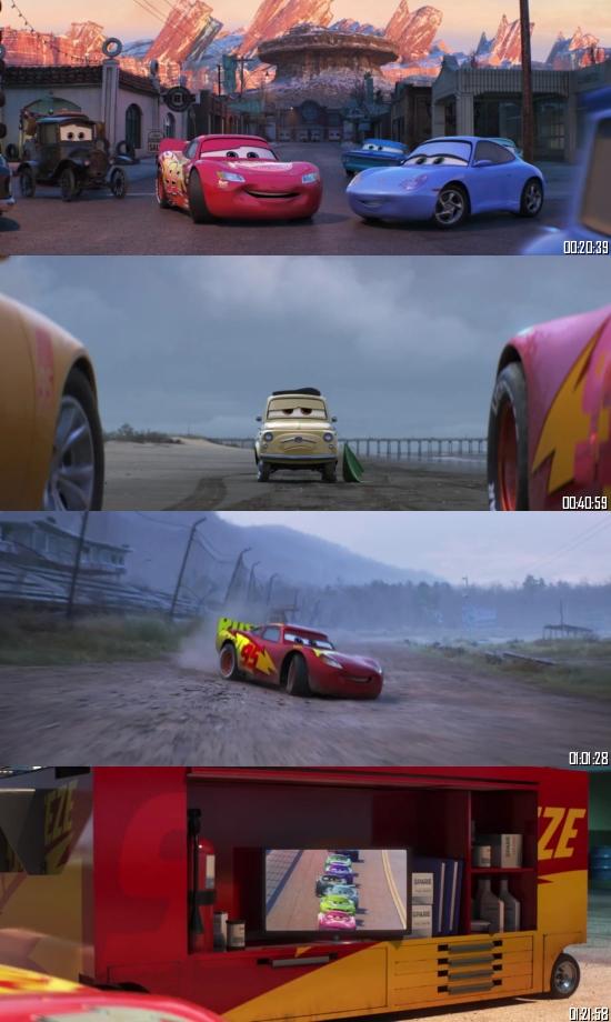 Cars 3 (2017) BRRip 720p 480p Dual Audio Hindi English Full Movie Download