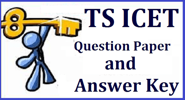 TS State, TS Admissions, TS ICET, Answer Key, Question Papers