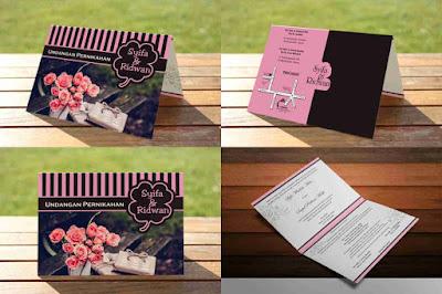 Download 10 Desain Kartu Undangan Pernikahan Photoshop Format Psd