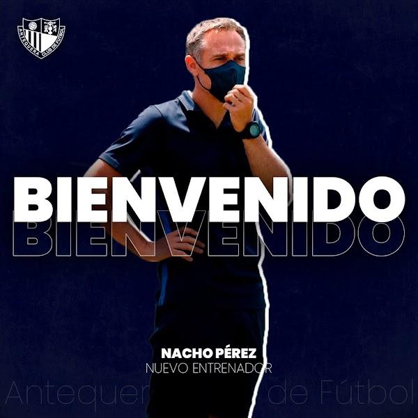 Oficial: Nacho Pérez firma por el Antequera