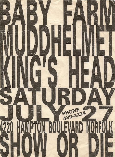 David's Flyers - 04 - Baby Farm, Mudd Helmet - King's Head Inn
