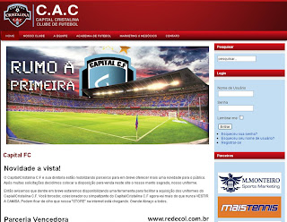 Site oficial do Capital/Cristalina