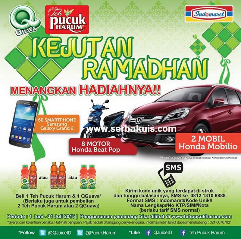 Undian Kejutan Ramadhan Indomaret Berhadiah 2 Mobil Honda Mobilio