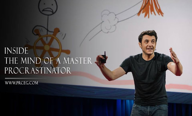 هل تسائلت يومًا ماذا يوجد بداخل عقل الشخص المُماطل؟  Tim Urban - TEDx