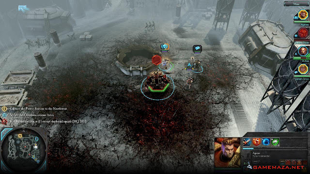 Warhammer 40000 Dawn of War II Chaos Rising Gameplay Screenshot 4