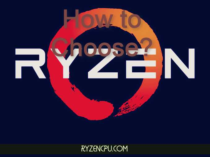 How to Choose the Right AMD Ryzen