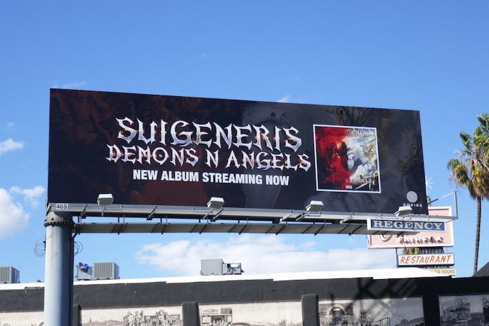 Suigeneris Demons N Angels album billboard