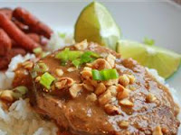 Resep Makanan Thailand Halal: Daging Saus Kacang Enak