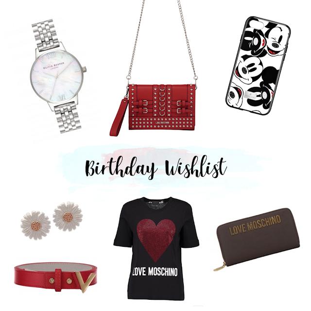 Birthday Wishlist 2019