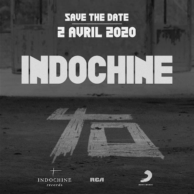 Indochine el 02/04/2020 anunciará un nuevo material discográfico