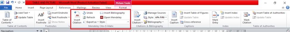 Cara menghubungkan Mendeley dengan Microsoft Word