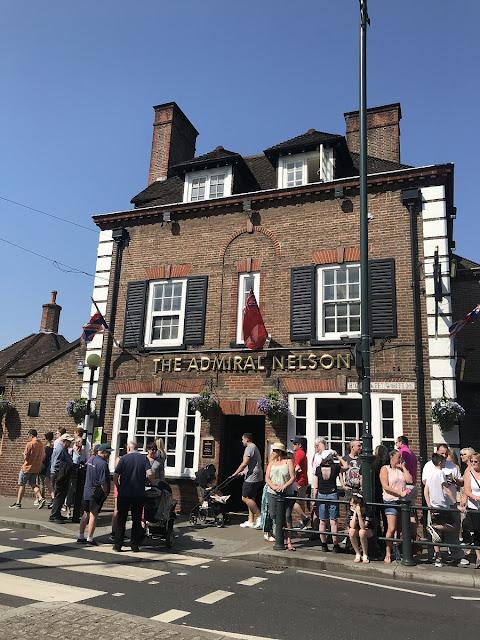 The Admiral Nelson Pub em Whitton