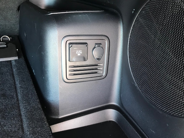Power outlets in cargo area of 2020 Toyota 4Runner 4X4 TRD PRO