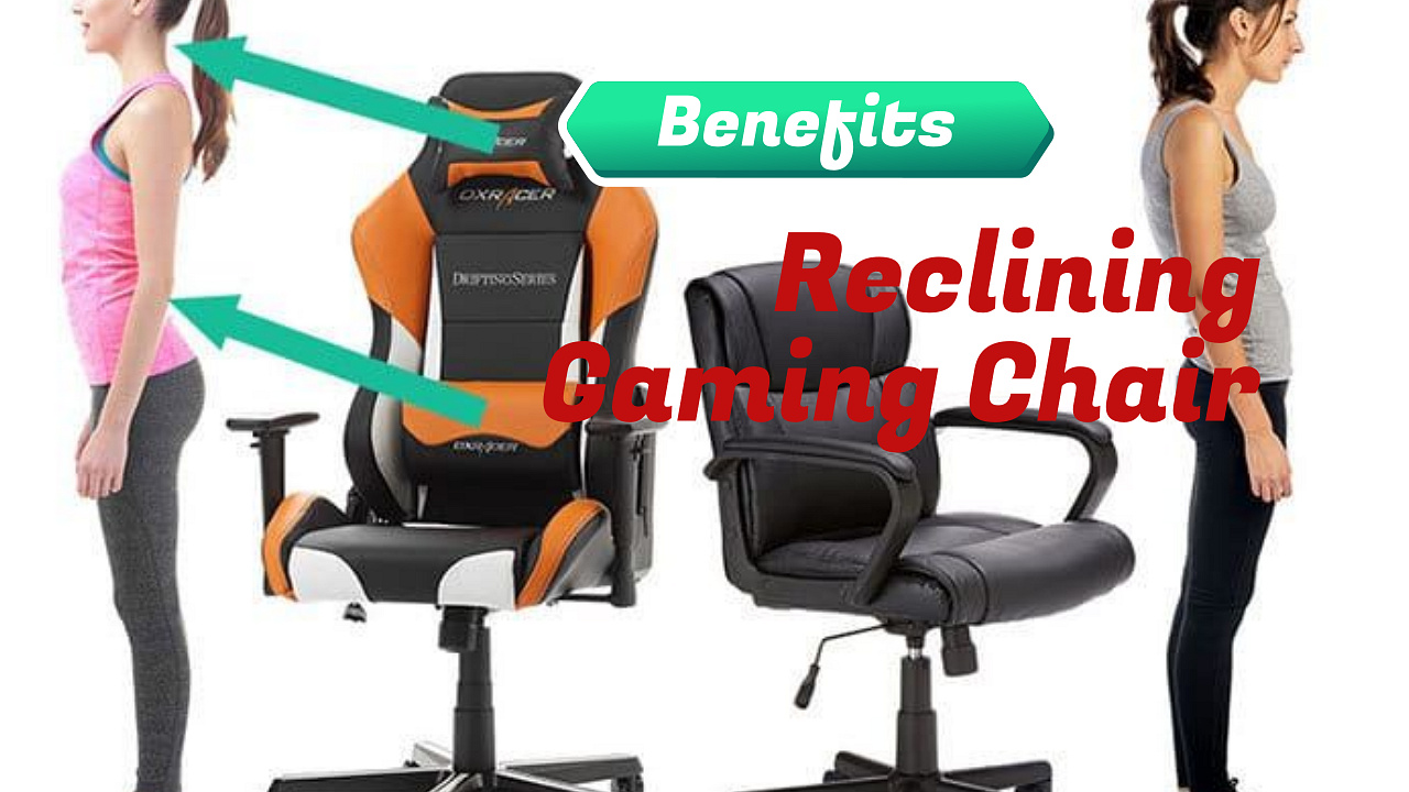 Health Benefits of Best Buy Reclining Gaming Chair with Monitor Mount :