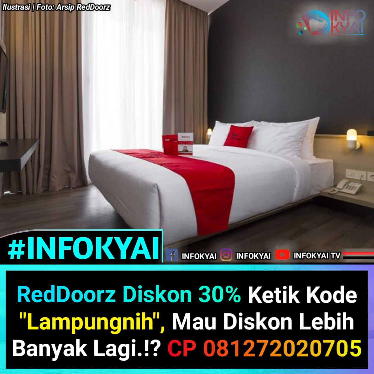 Reddoorz Diskon 30 Ketik Kode Lampungnih Mau Diskon Lebih Banyak Lagi Cp 081272020705 Berita Viral Hari Ini Lowongan Kerja Hari Ini