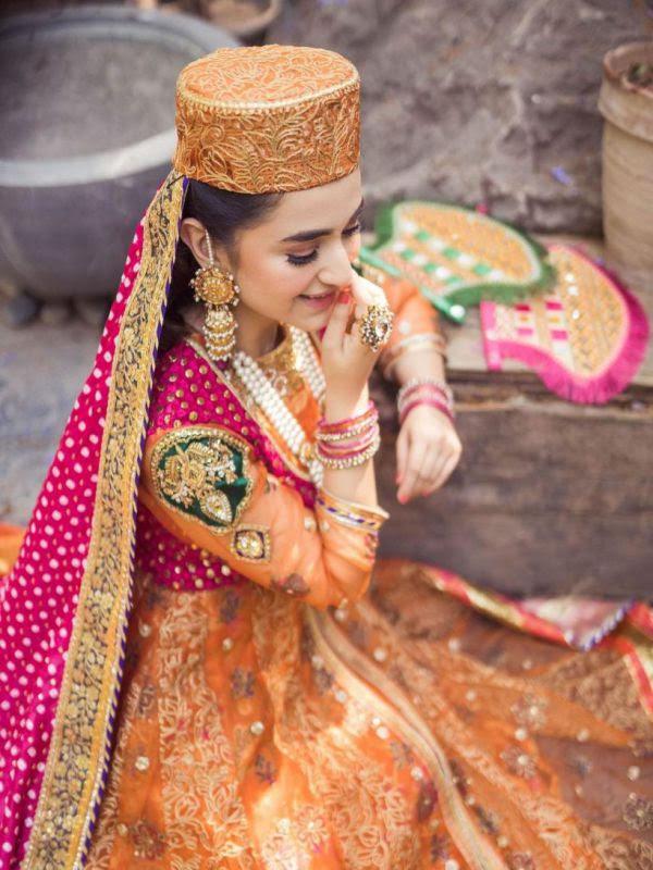 Yumna Zaidi new beautiful Photoshoot for RJ's Pret