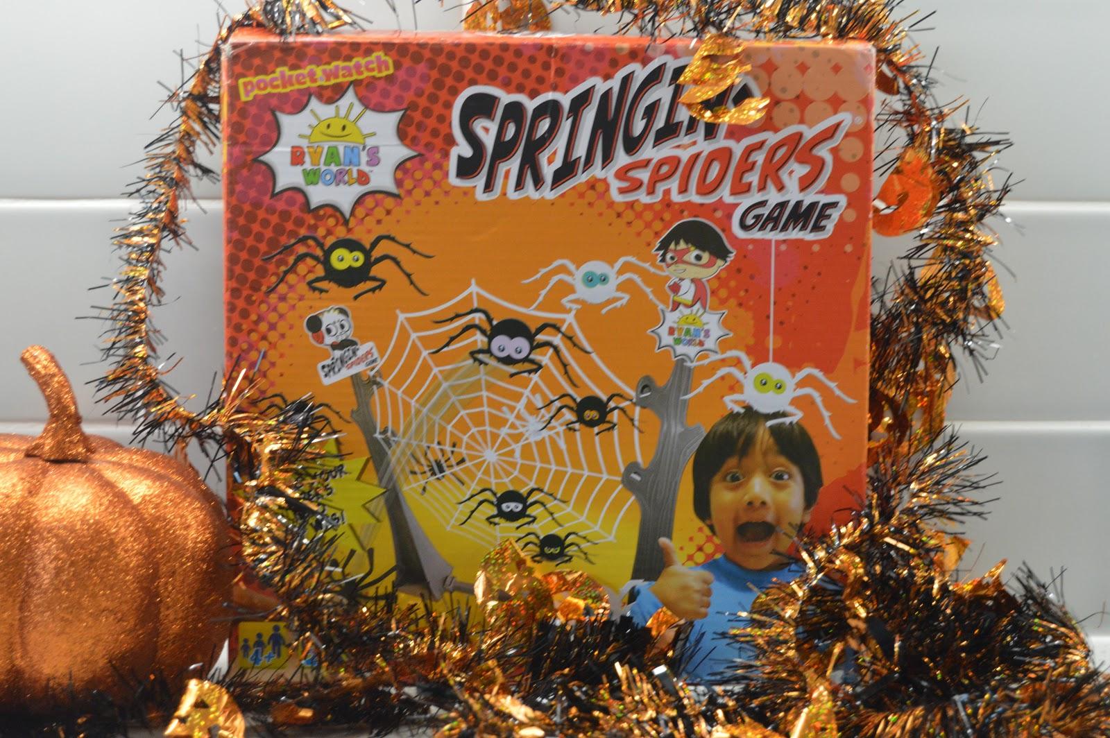Springin Spiders Game