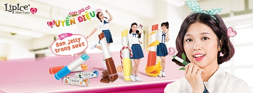 Review Lipice Sheer Color Q Jelly - Son Dưỡng có Mầu giá rẻ, son lipice, son lip ice, son giá rẻ, son cho teen, son bình dân, son dưỡng, son hàn quốc