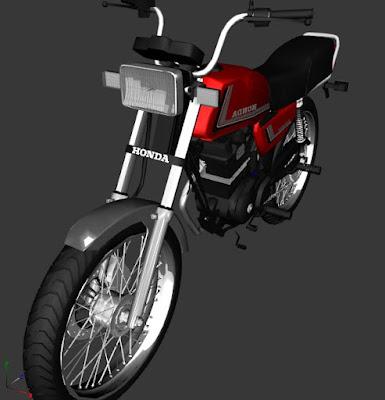 GTA SA - HONDA ML (PC FRACO)
