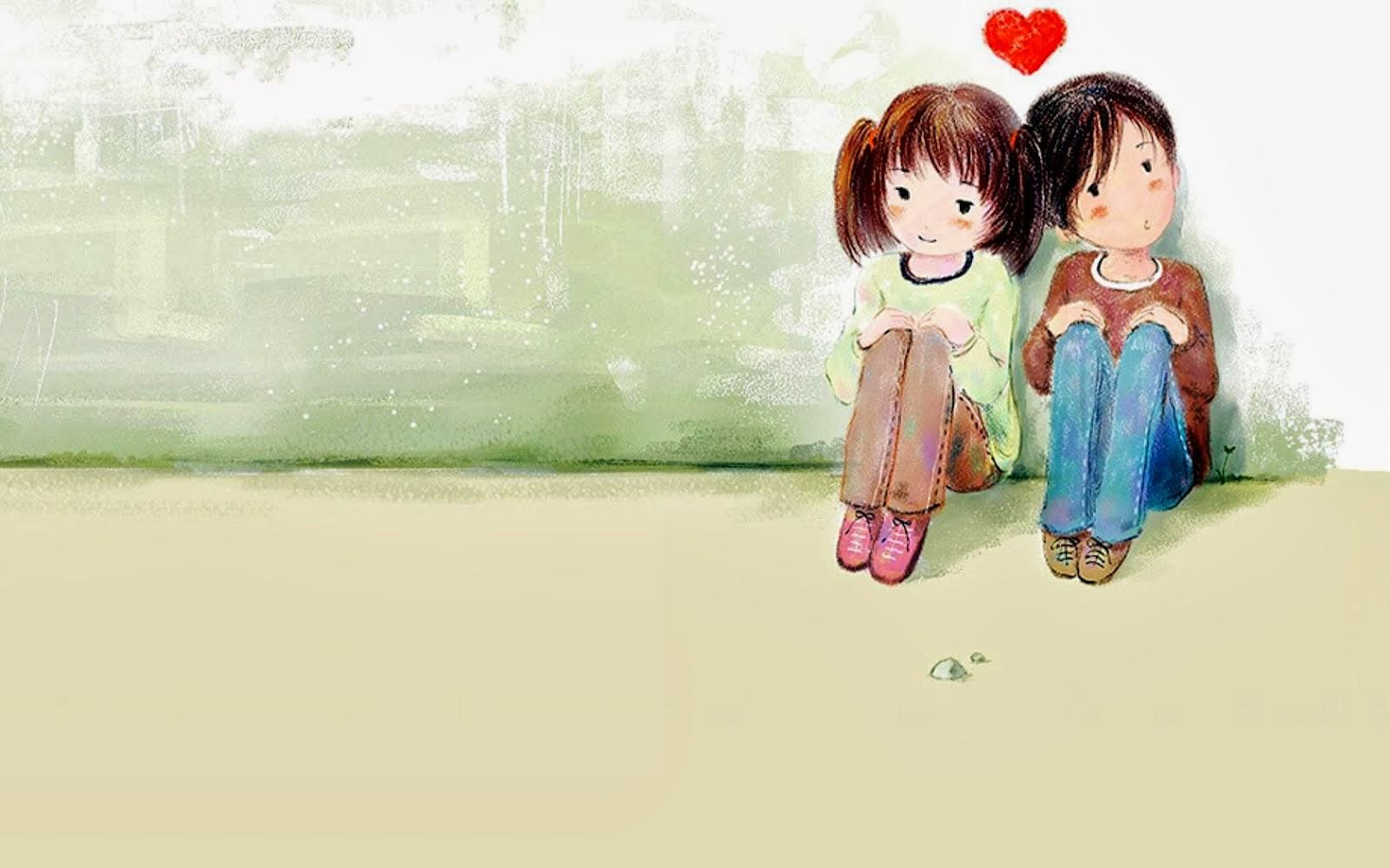 AH SALAH AH: Gambar Kartun Korea Couple