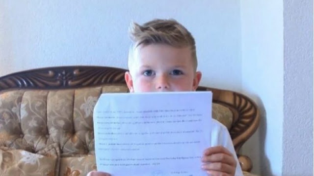 The 6-year old Albanian genius, Amar Lenjani speaks 7 languages