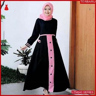UTM040T72 Baju Tya Muslim Dress UTM040T72 028 | Terbaru BMGShop