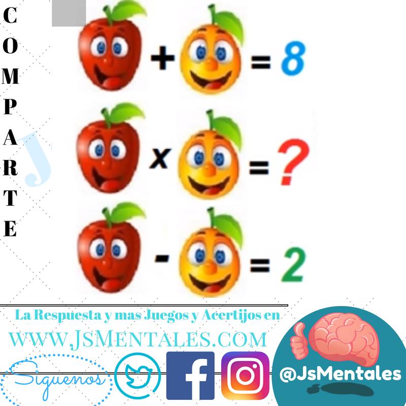 Juegos Mentales De Matematicas Www Imagenesmy Com