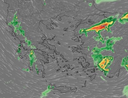 Νέες βροχές αύριο από τα δυτικά