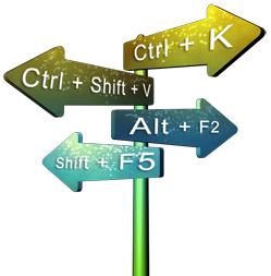 tombol shortcut pada browser