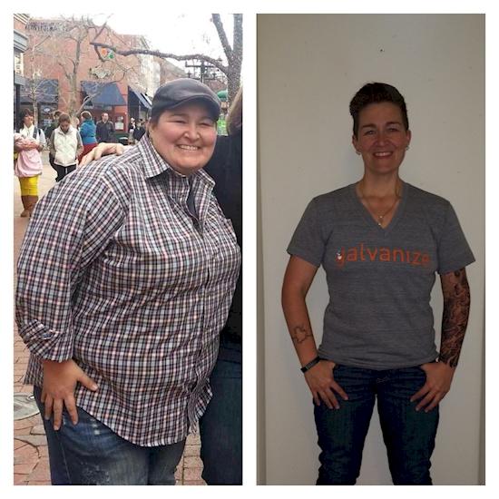 Η χρήστης imlosinitnow έχασε 72 κιλά σε 15 μήνες