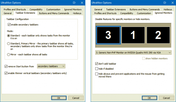 Smart Taskbar untuk Windows 10
