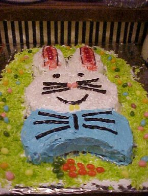 Easter bunny cakes - photo 2