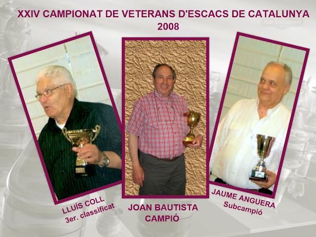 XXIV Campeonato de Veteranos de Catalunya 2008