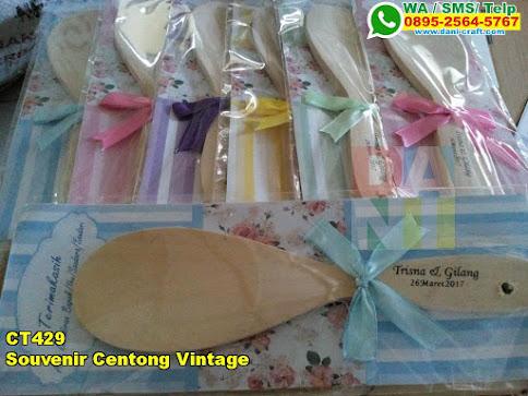 Grosir Souvenir Centong Vintage
