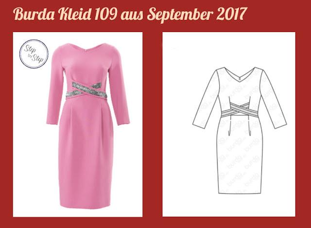 Kleid 109 aus Burda Sept 2017