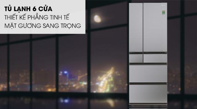 Tủ lạnh Panasonic Inverter 642 lít NR-F654GT-X2