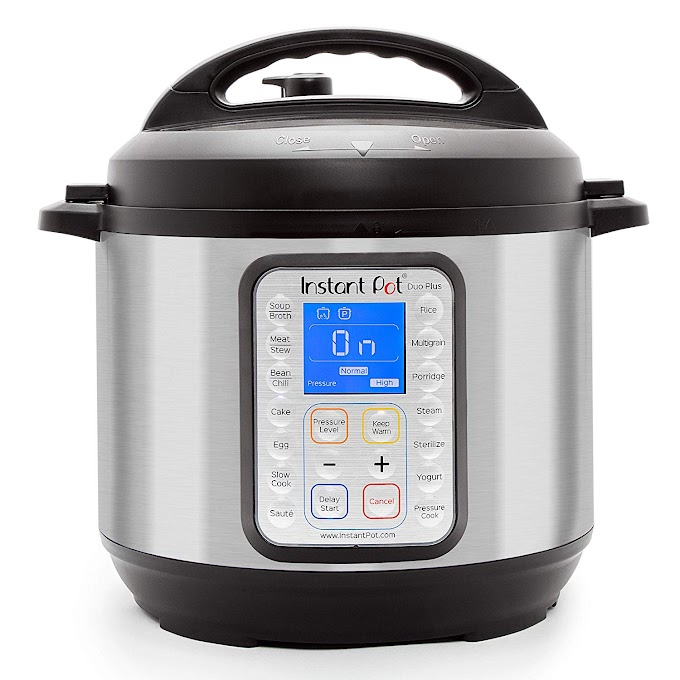 AMAZON - Instant Pot DUO Plus 60, 6 Qt 9-in-1 Multi- Use Programmable Pressure Cooker